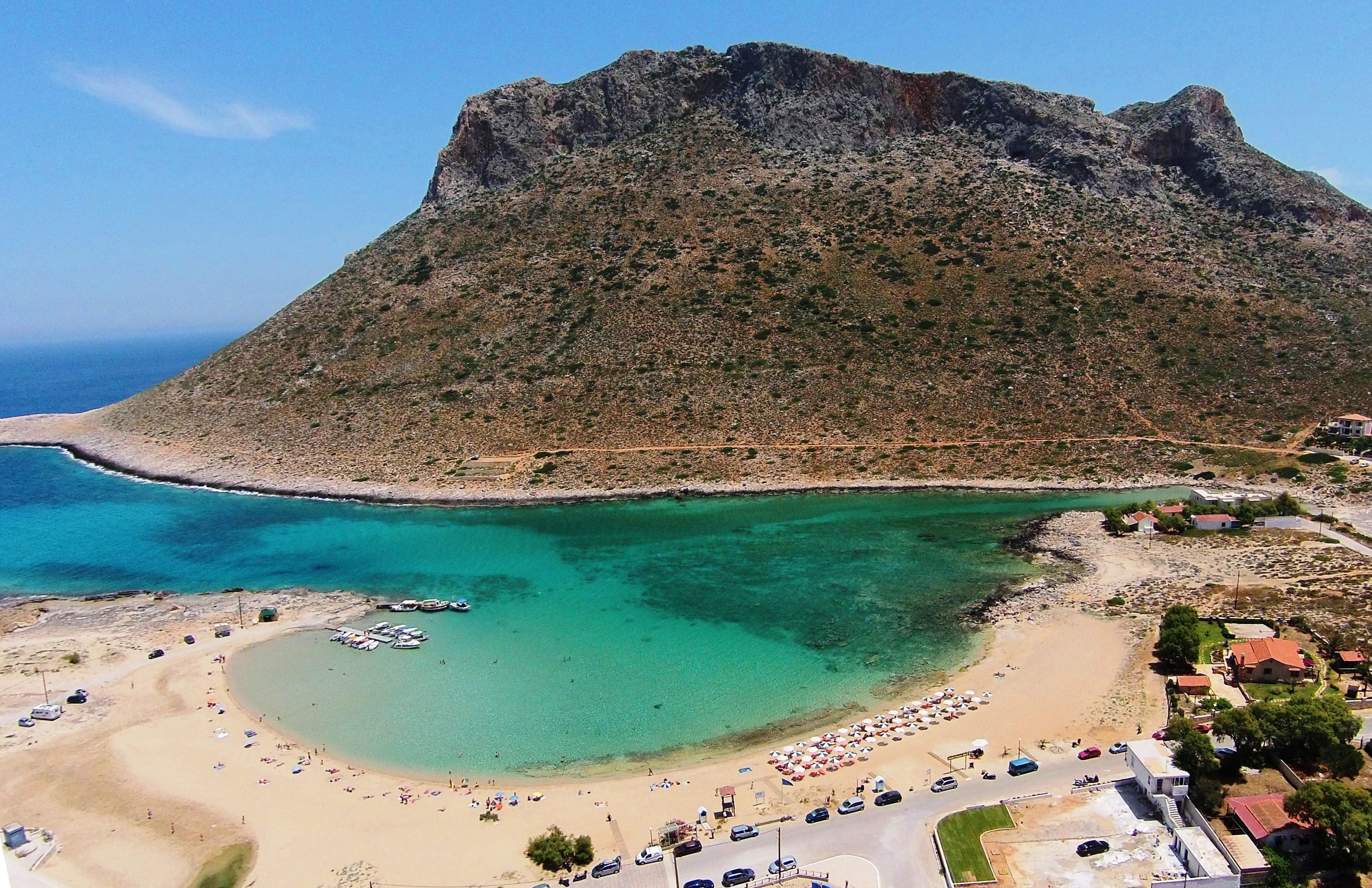 Stavros akrotiri chania crete greece dronestagram