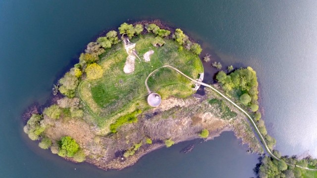 Hald Ruin is a old fort in the middle of Denmark