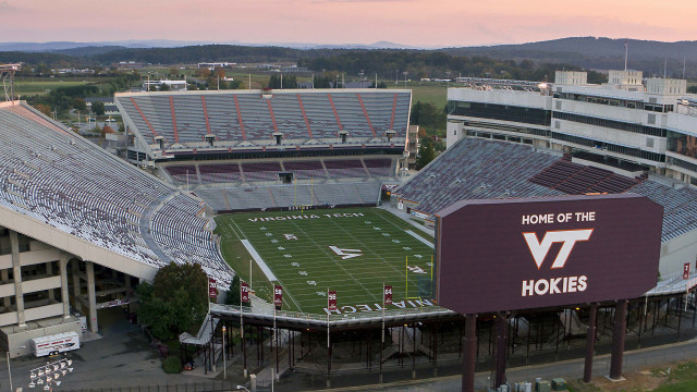 Lane Stadium at Virginia Tech, Blacksburg, VA, USA