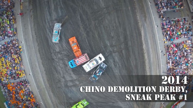 Chino Demolition Derby, Chino, California, USA