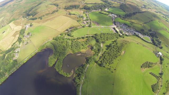 Hollingworth Lake, Littleborough, Lancashire, UK