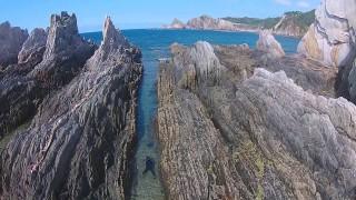 Playa de Gueirua, Cudillero, Asturias