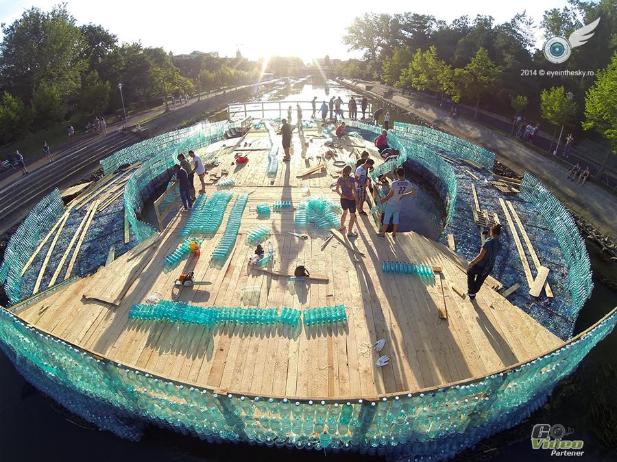The biggest plastic bridge in the world – Timisoara, Romania