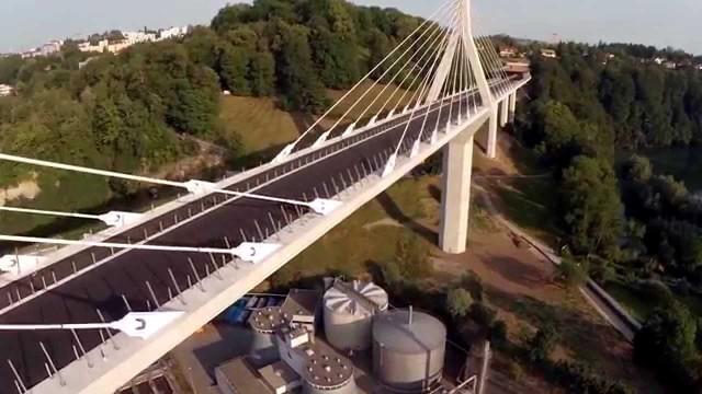 Pont de la Poya, Fribourg, Suisse