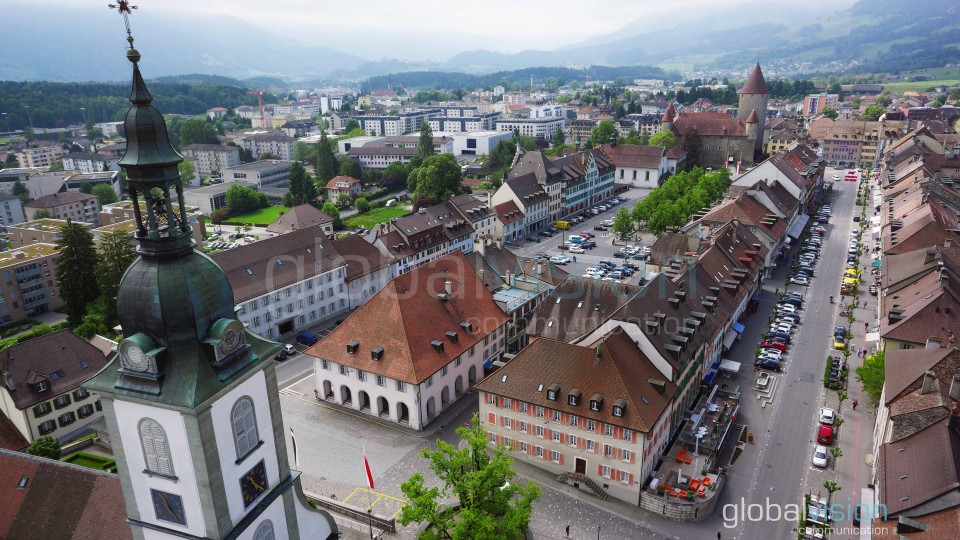 Bulle Switzerland  city photos : Bulle, Switzerland | Dronestagram