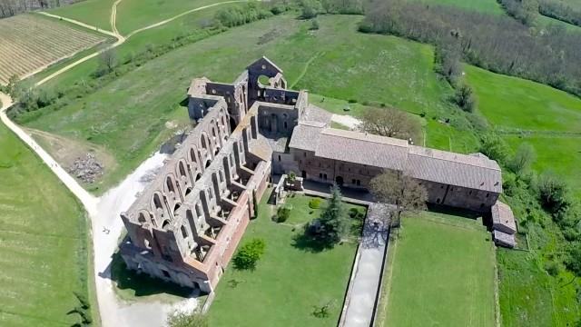 San Galgano, Siena, Tuscany, Italy