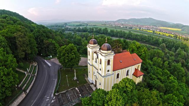 Pilgemarie Skalka nad Vahom, Trencin, Slovakia