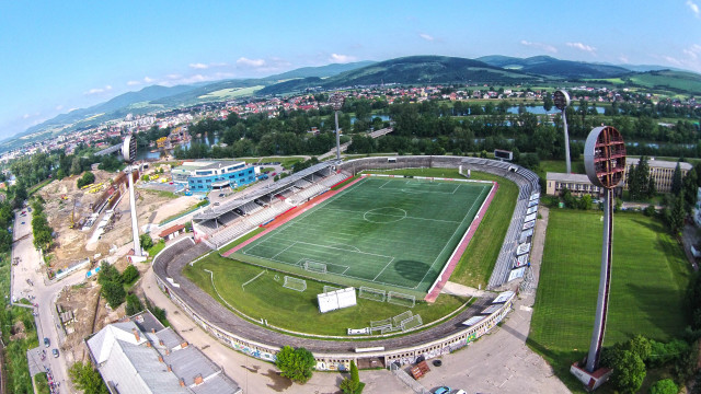 Futbool stadium, AS Trencin, Trencin, Slovakia