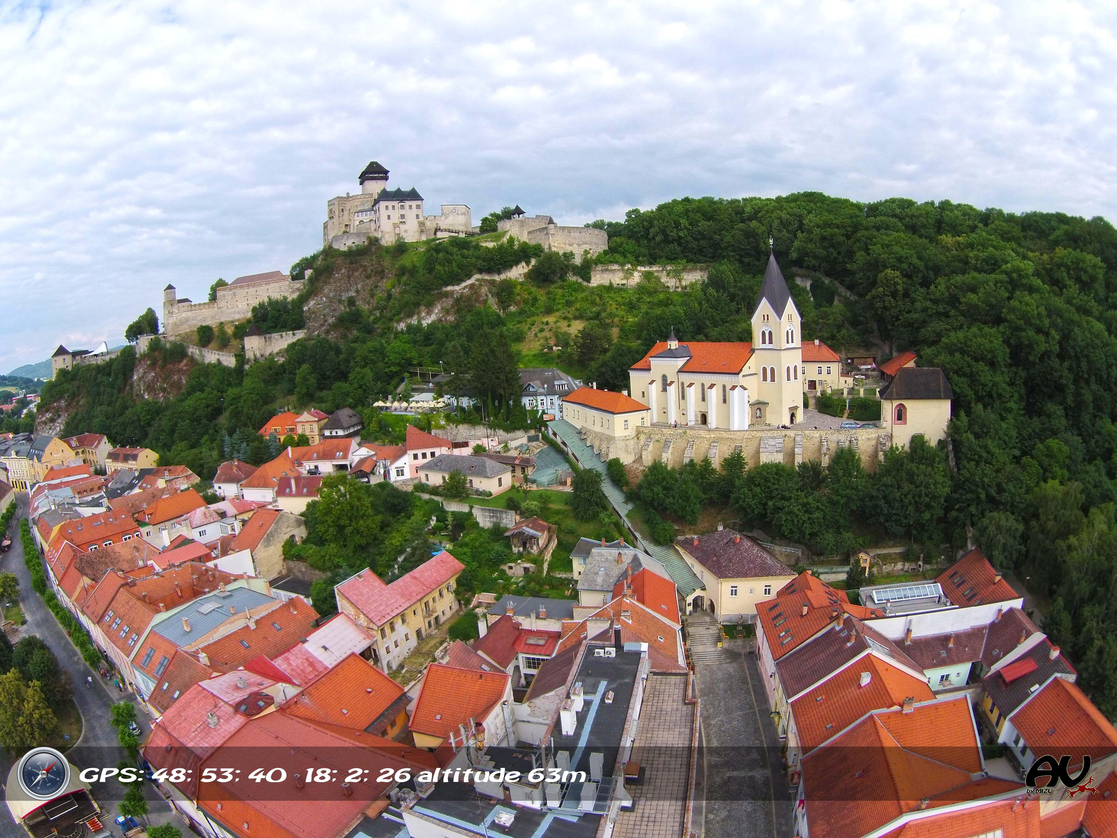 Trencin castle, Trencin, Slovakia