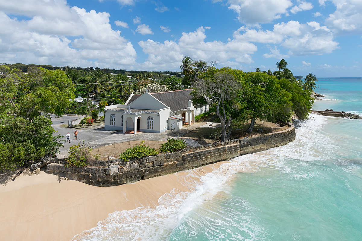 Saint James Barbados  city pictures gallery : St. Alban's, Church, St. James, Barbados | Dronestagram