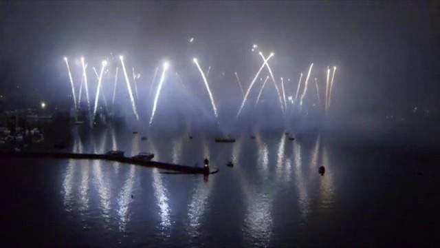 Fêtes de Genève Fireworks 2014