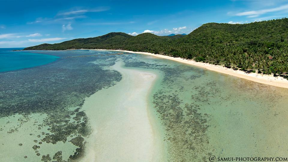 Koh Tan island, koh Samui, Thailand  Dronestagram