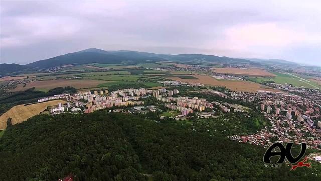Trencin, Panorama, Slovakia