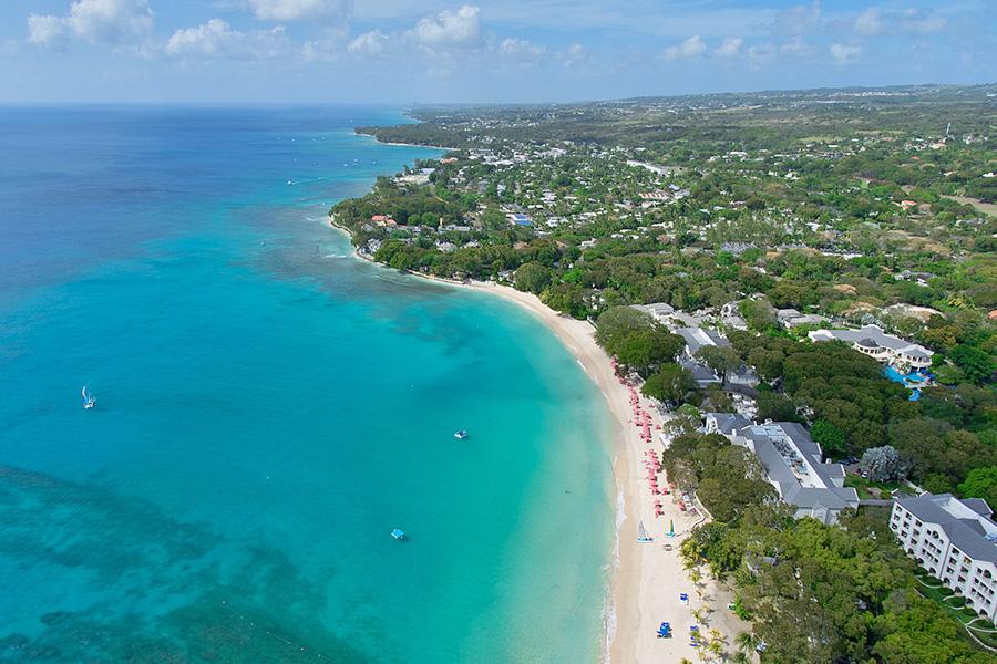 Saint James Barbados  City pictures : Sandy Lane Beach, St. James, Barbados | Dronestagram