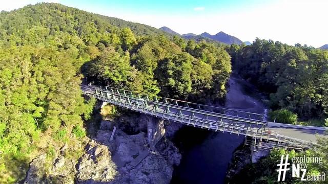 Pelorus Bridge, New Zealand