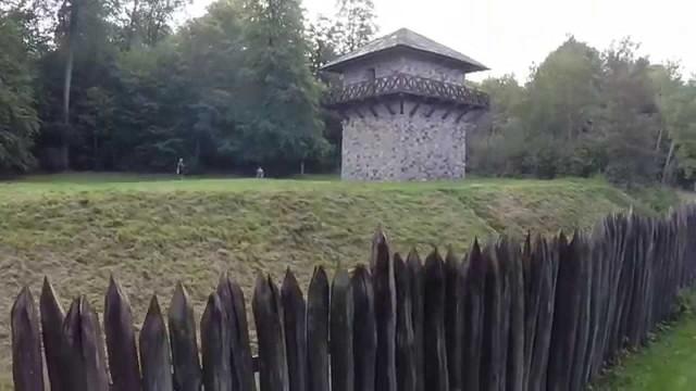 , Roman Limes Watchtower Zugmantel, Taunusstein Orlen, Hesse, Germany