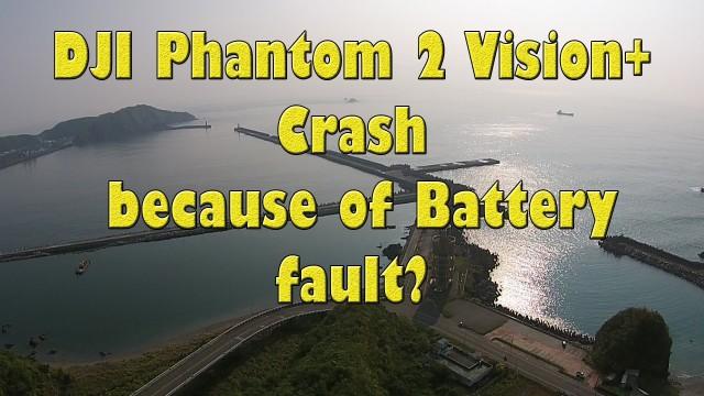 Crash DJI PV+ Battery Fault?