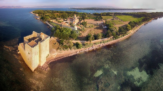 Ile Saint Honorat, Cannes, France