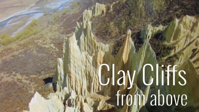 Clay Cliffs, New Zealand