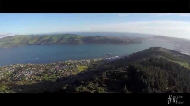 Dunedin in 4K, New Zealand