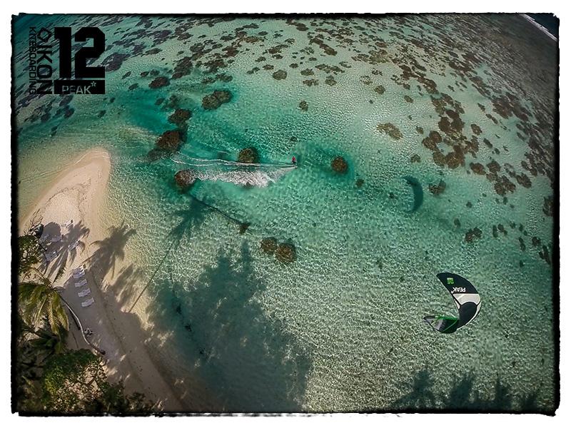 Kitesurf in Tahiti Lagoon