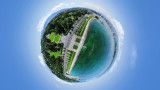 The one and only 360° aerial map in Geneva, Switzerland