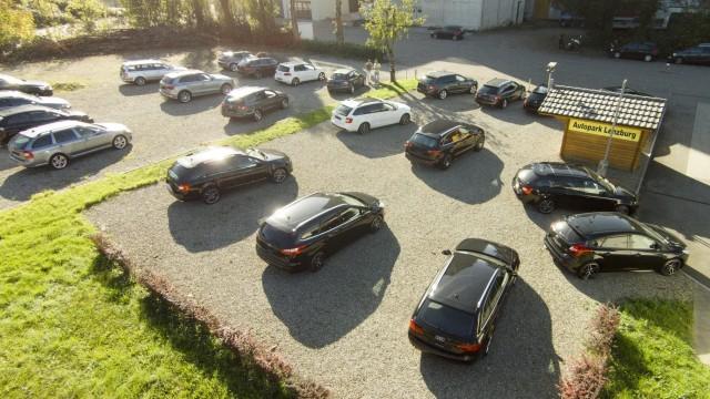 Switzerland Autopark Lenzburg