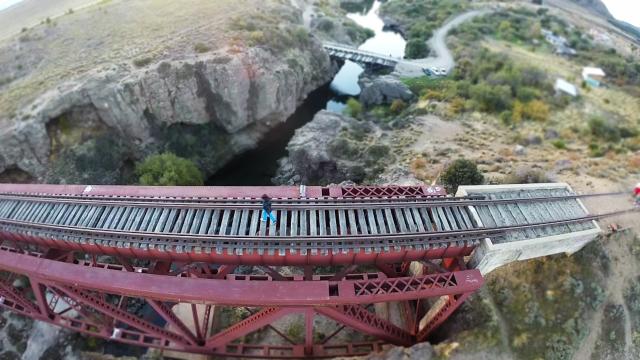 Puente Ñirihuau en San Carlos de Bariloche, Argentina