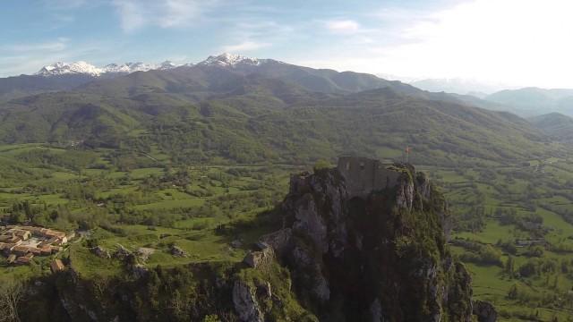 Chateau de Roquefixade – Ariège – France