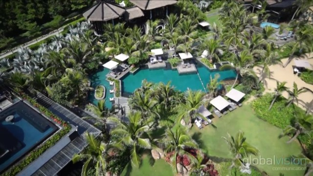 Drone Video at South-East Asia Resorts