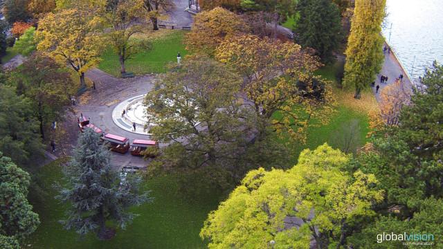 The colors of autumn in Geneva