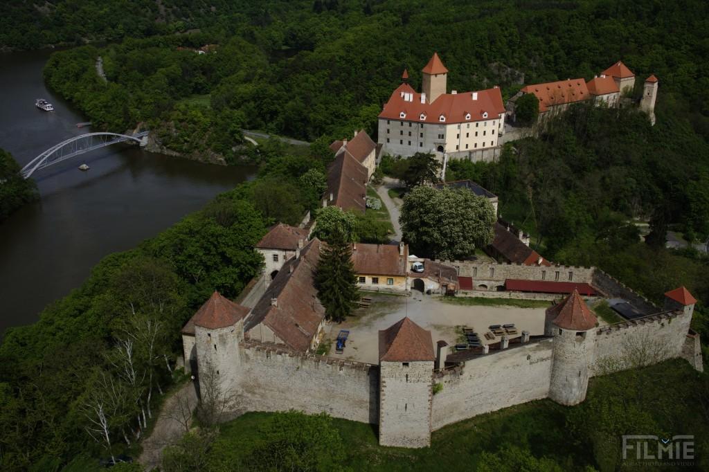Veveri Castle Brno Czech Republic Dronestagram