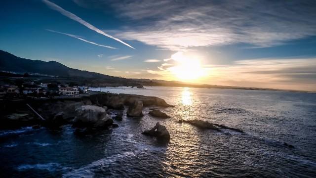 Shell Beach, California, USA