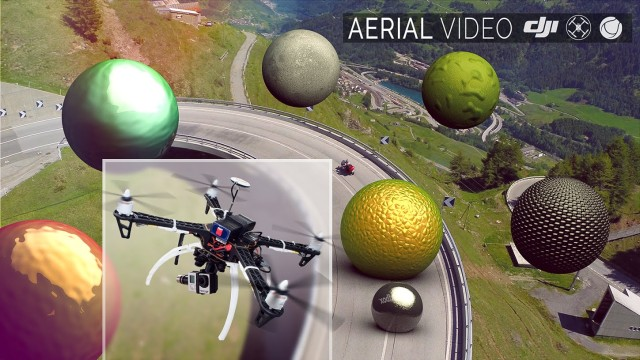 SPHERES – Aerial Video – 3D VFX