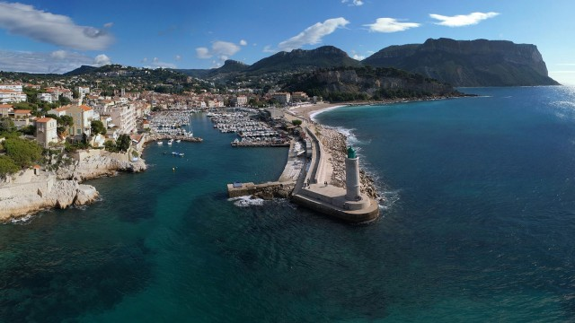Photo aérienne – Cassis – TechniVue