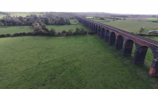 Harringworth Viaduct, Rutland, England
