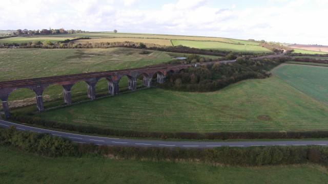 Harringworth Viaduct, Rutland, England
