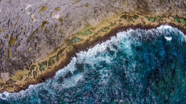 Cap des Pins, Zoz, Lifou, Nouvelle-Calédonie
