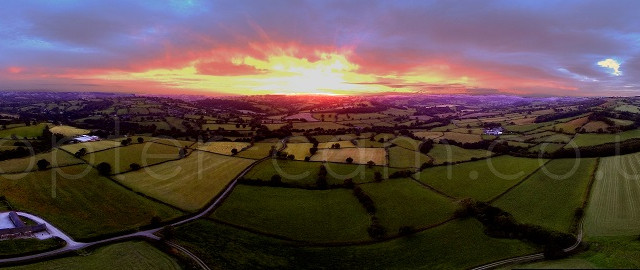 Derbyshire sunset PIC 5