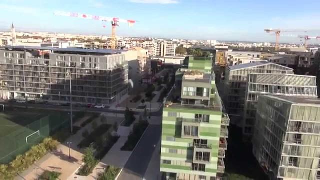 Vidéo aérienne – Confluence Lyon – TechniVue