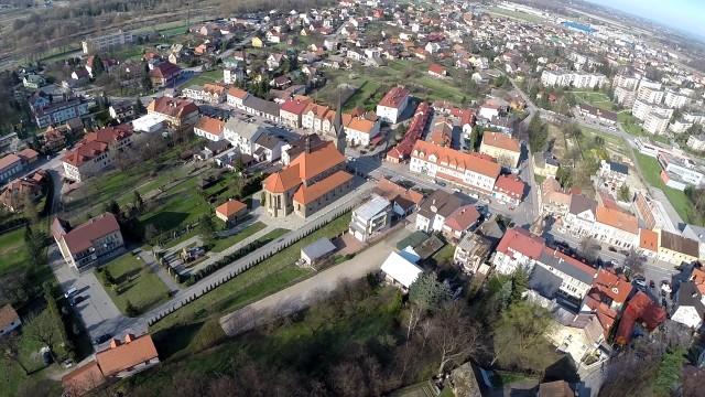 Dobczyce – Zamek – Zalew Dobczycki z Lotu Ptaka by air-video.pl