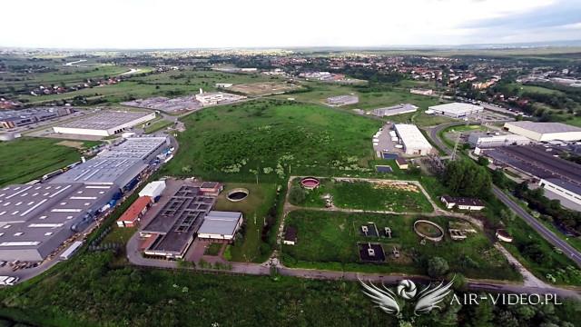 Niepołomicka Strefa Gospodarcza, Niepołomice – Małopolska z lotu ptaka by air-video.pl