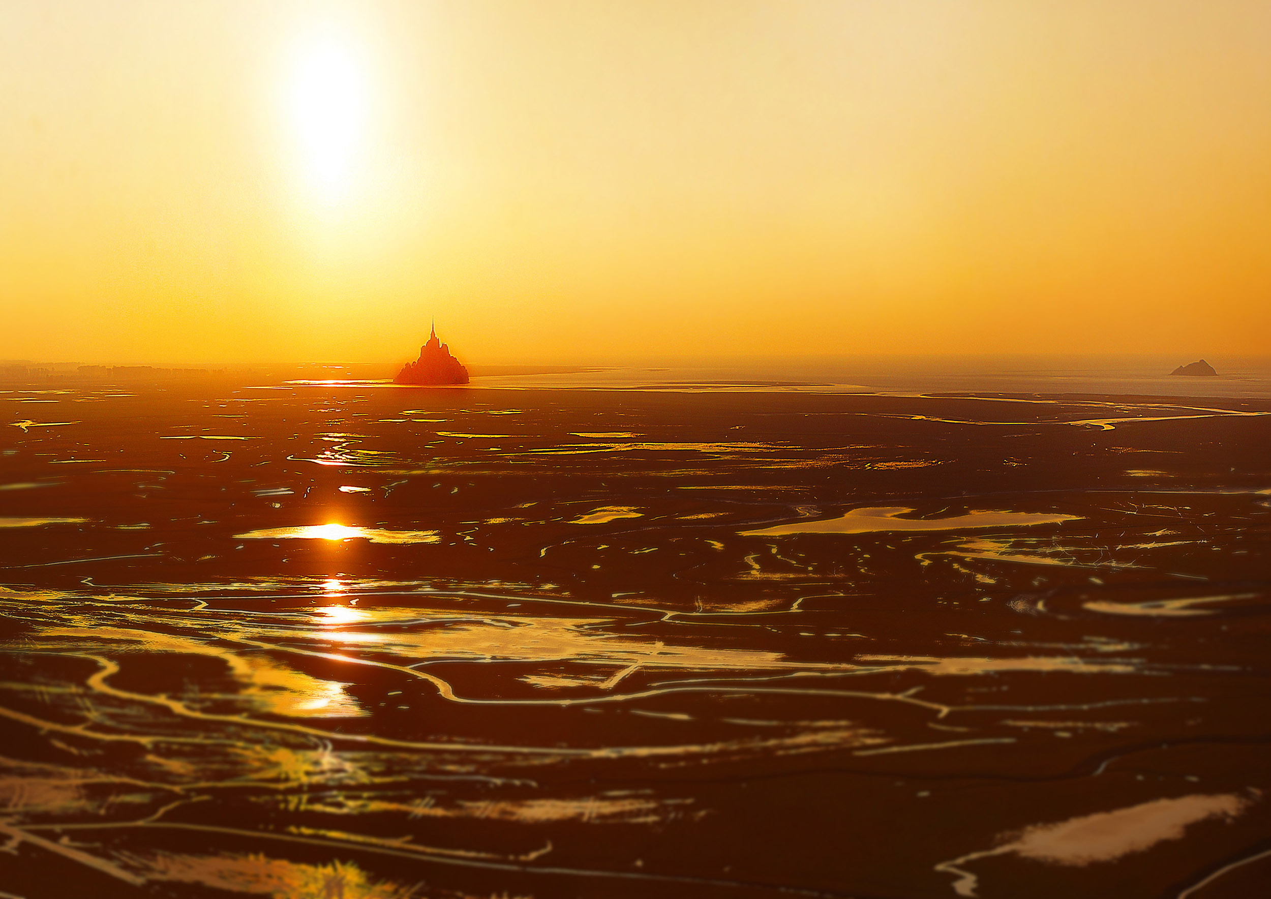 Photo aérienne drone – Mont St Michel – TechniVue