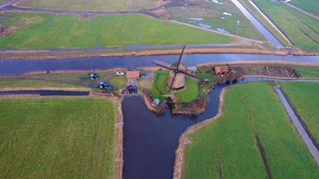 Windmill Bosmolen, Hoeverweg, Alkmaarr