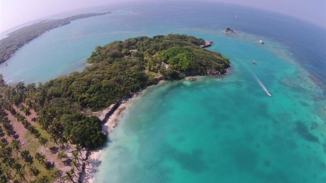Rosario archipielago Colombia Cybul