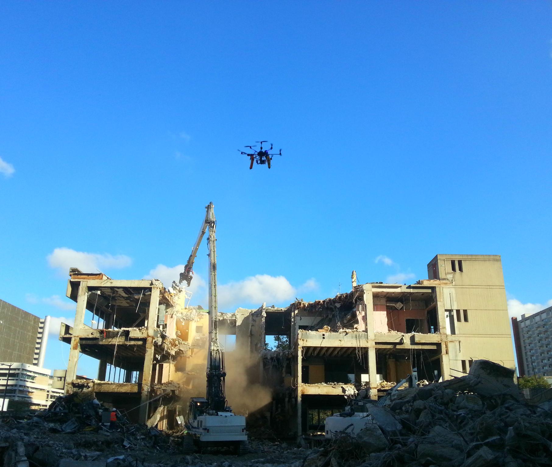 Photo aérienne drone – Part Dieu Lyon – TechniVue