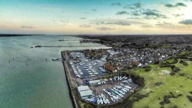 hythe, Southampton, uk.