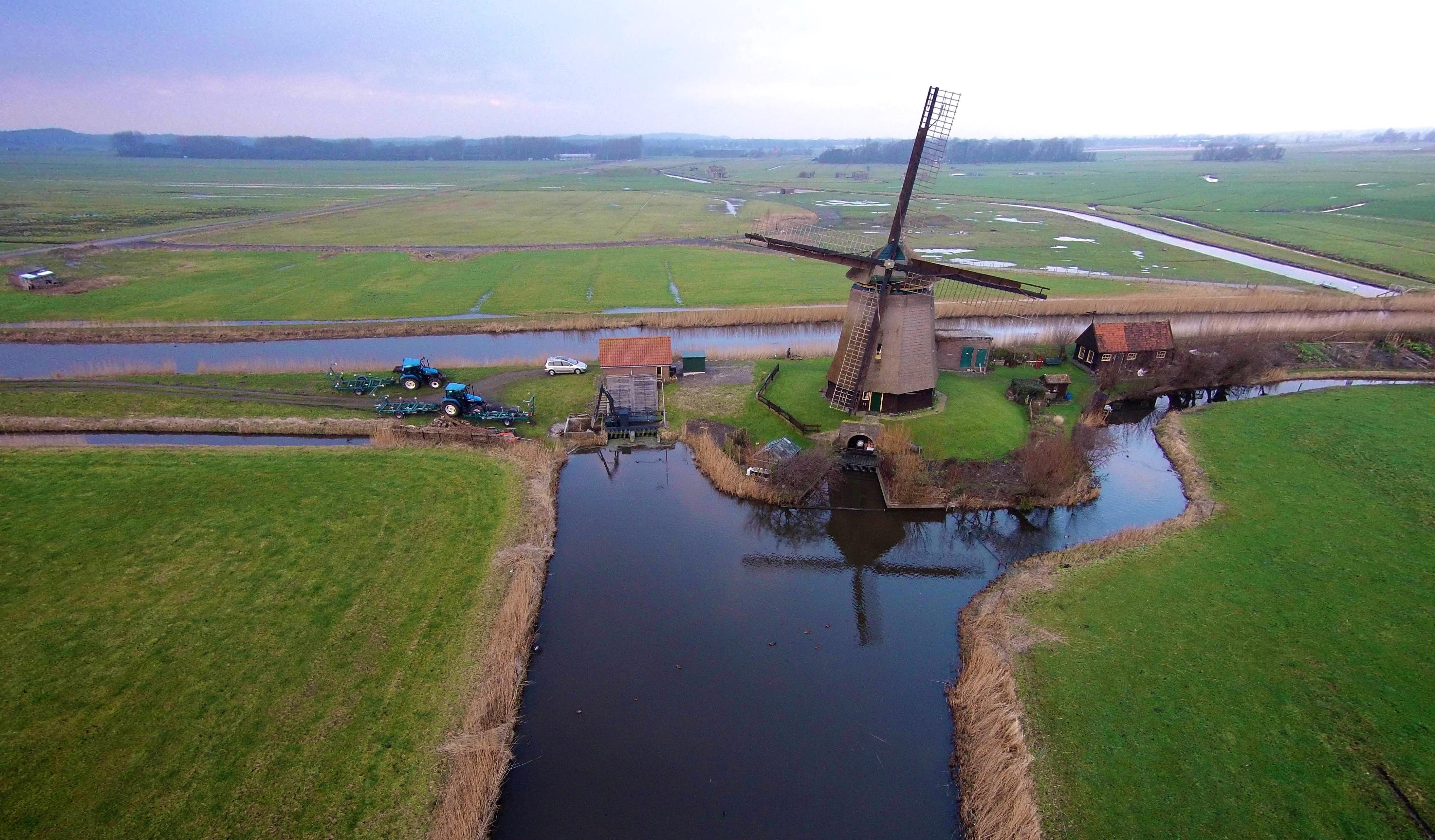 Windmill bosmolen, hoeverweg, alkmaar