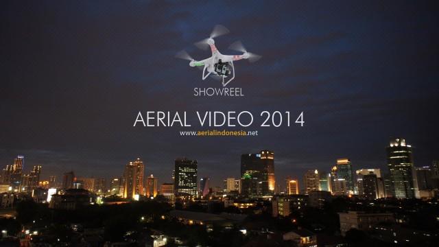 Indonesia Aerial video showreel 2014
