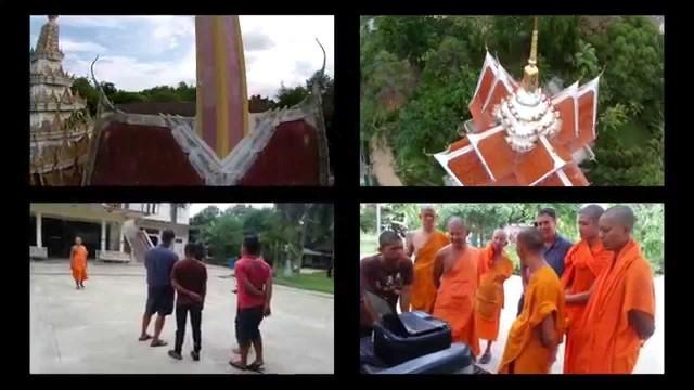 Various temples around Thailand